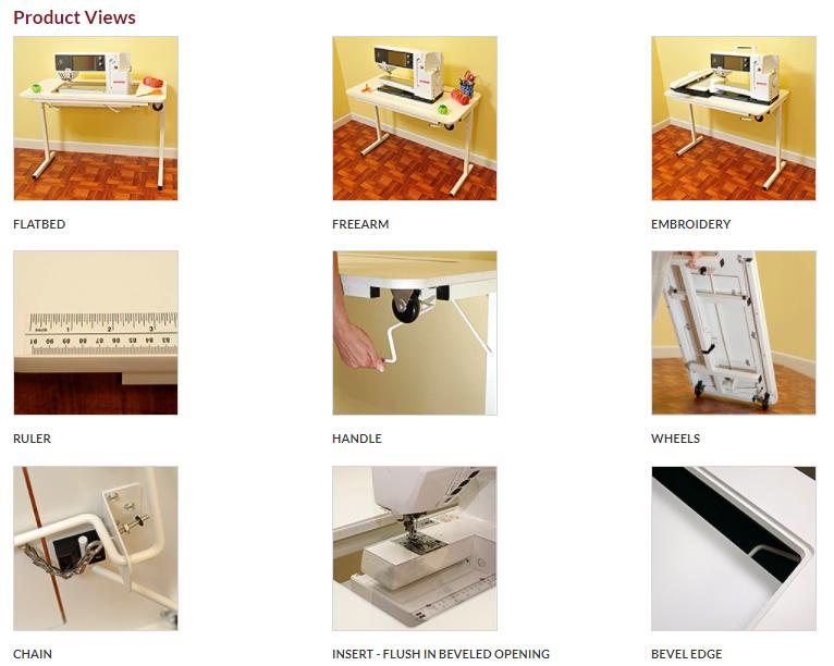 arrow 98611 gidget ii sewing table