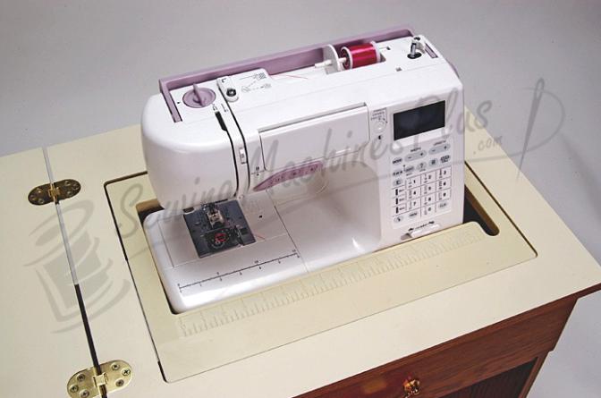 arrow auntie retro look sewing cabinet