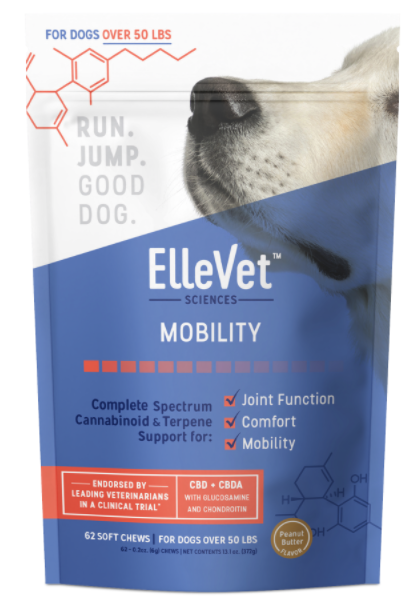 ellevet hemp cbd chews for large dogs