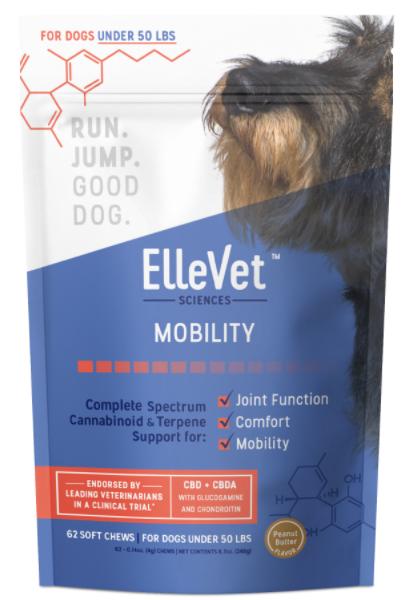 ellevet hemp cbd chews for small dogs