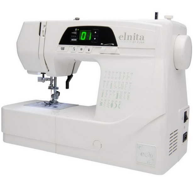 elna elnita ec30 computerized sewing machine