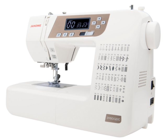 janome 3160qdc t gold computerized sewing machine