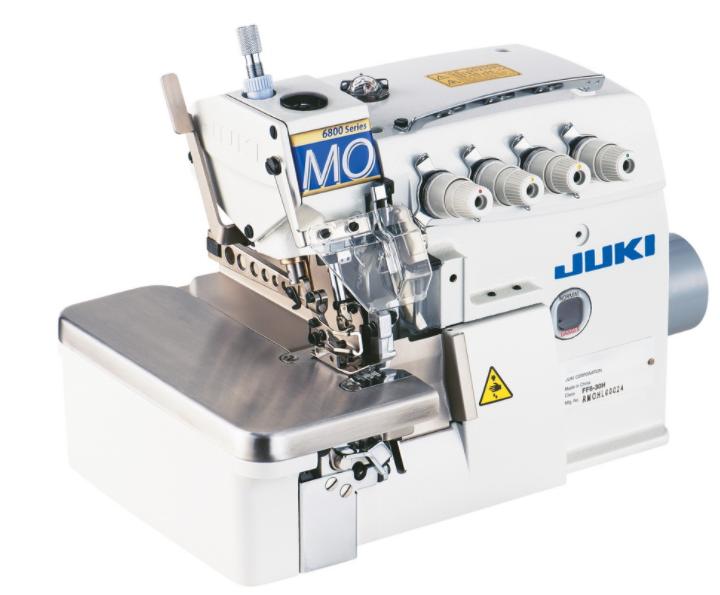 juki mo 6814s industrial serger machine