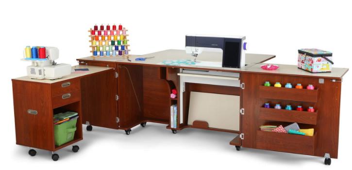 kangaroo kabinets k8605 aussie sewing cabinet teak