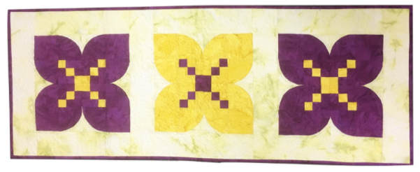 ready to sew crocus table runner