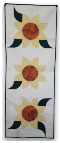ready to sew sunflower table runner