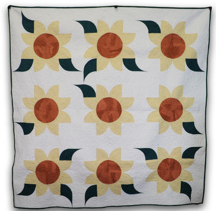 ready to sew sunflower wall hanging