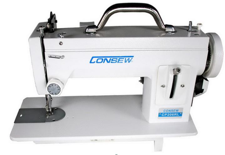 consew cp206rl portable walking foot sewing machine