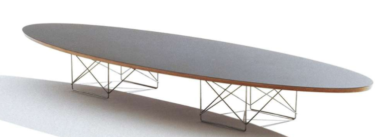 eames elliptical table herman miller
