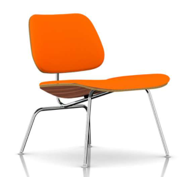 eames molded plywood lounge chair upholstered