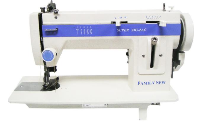 family sew portable walking foot zig zag sewing machine 288