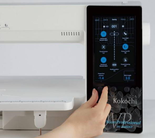 juki kokochi dx 4000qvp sewing machine