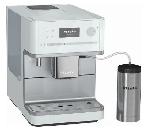 miele cm6350 countertop coffee machine lotus white