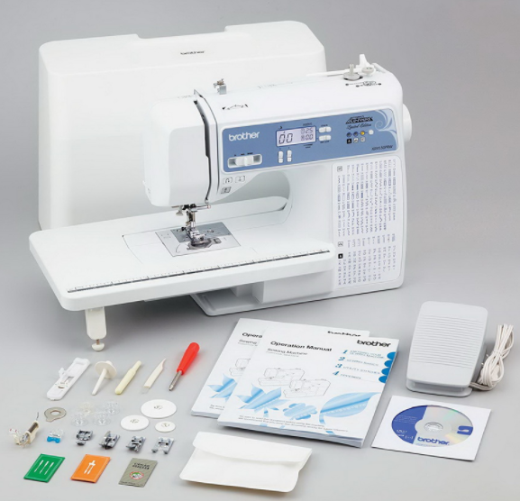 brother refurbished xr9550prw sewing and quilting machine