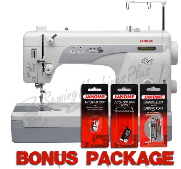 janome 1600p qc straight stitch machine