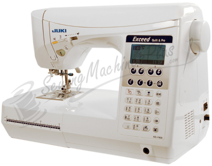 juki hzl f400 computerized sewing quilting machine