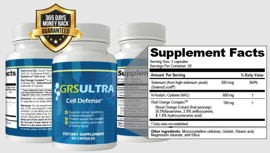 Grs Ultra Ingredients