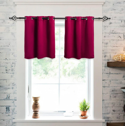 blackout curtain panels for kitchen