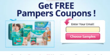 free pampers coupons 2021