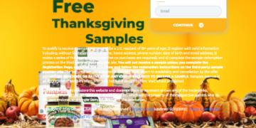 free thanksgiving samples
