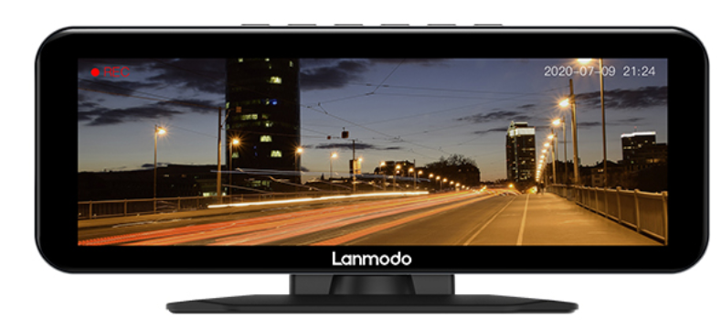 lanmodo vast pro 1080p night vision with dashcam