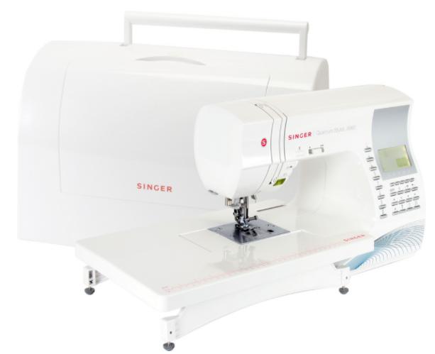 singer quantum stylist 9960 quilter sewing machine