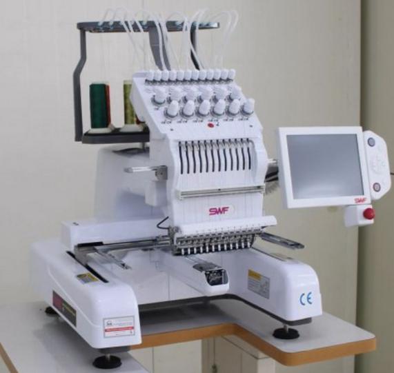 swf mas 12 needle embroidery machine