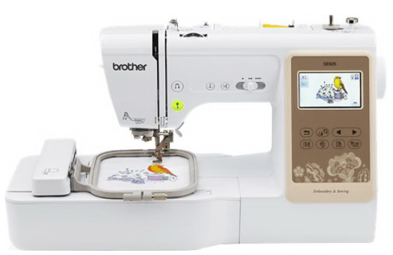 brother se625 computerized sewing and embroidery machine factory serviced