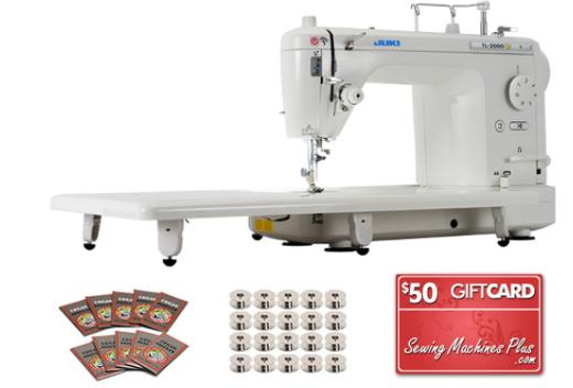 juki tl 2000qi long arm quilting machine bonus package