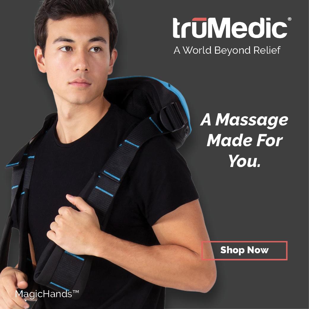 magic hands trushiatsu neck and back massager