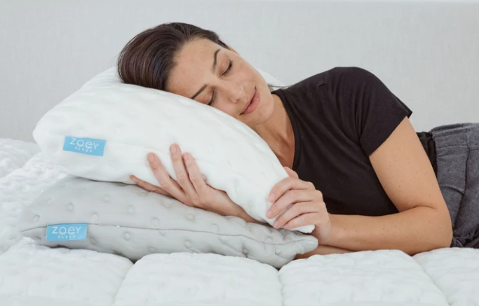 zoey curve pillow discount