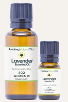 healing natural oils lavender oil