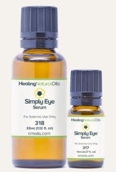 healing natural oils simply eye serum