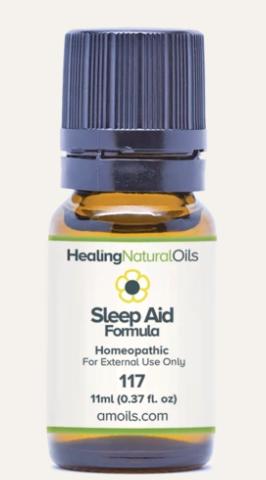 healing natural oils sleep aid formula