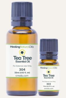 healing natural oils tea tree oil
