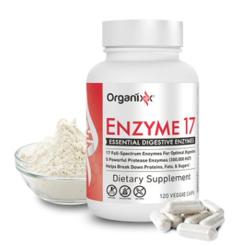 organixx enzyme 17