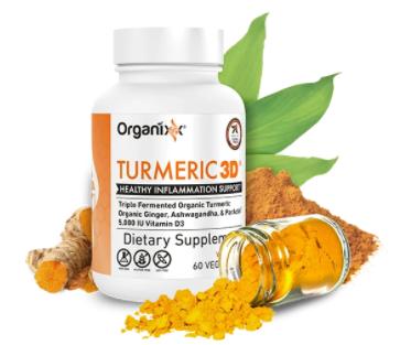 organixx turmeric 3d