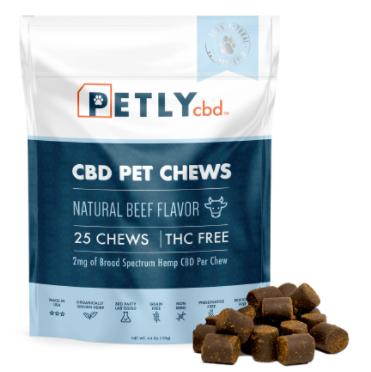 pet hemp cbd dog treats