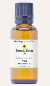 simply body oil