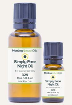 simply face night oil