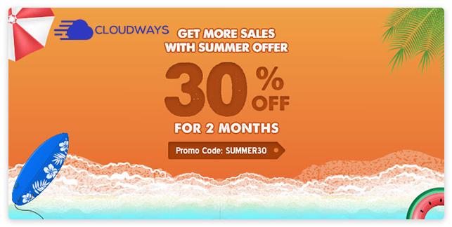 cloudways hosting discount