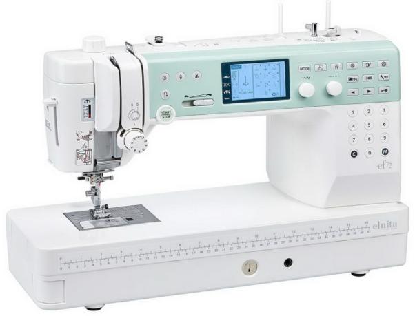elna elnita ef72 computerized sewing and quilting machine