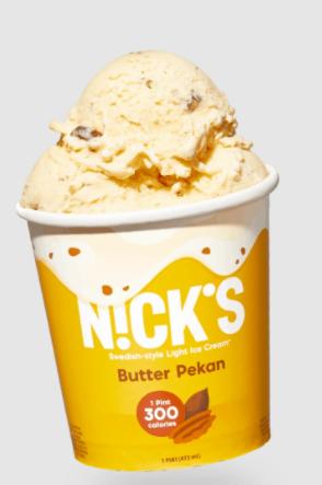 nick ice cream butter pecan