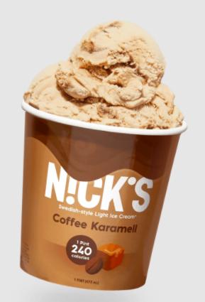 nick ice cream coffee caramel