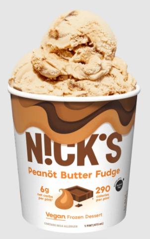 nick ice cream peanut butter fudge