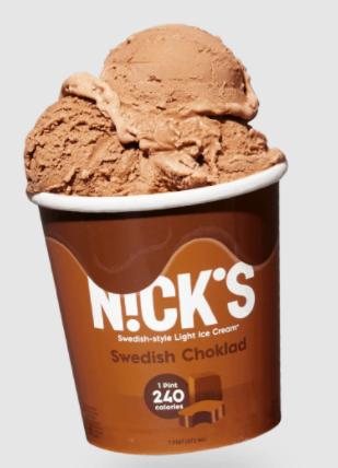 nick ice cream swedish chocolate