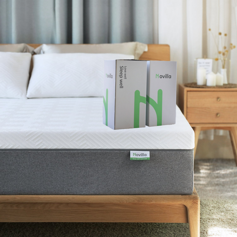 novilla bliss 12 memory foam mattress