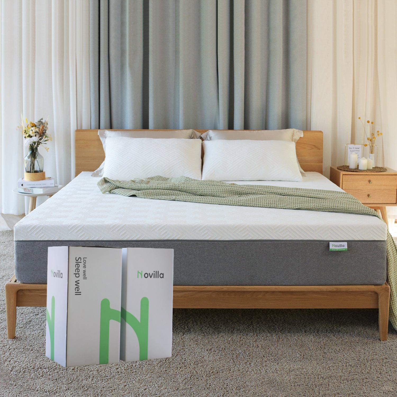 novilla bliss memory foam mattress